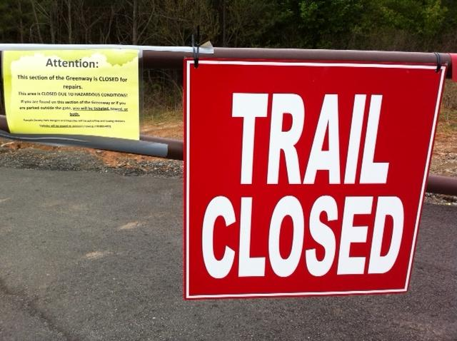 Forsyth Greenway to Re-open Between McFarland and Union Hill May 9th