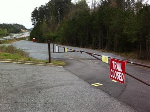 McFarland Trail Head Closed