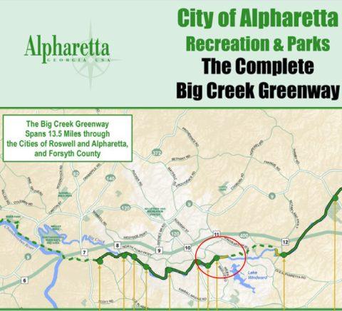 Alpharetta Greenway to Marconi Drive Extension Complete