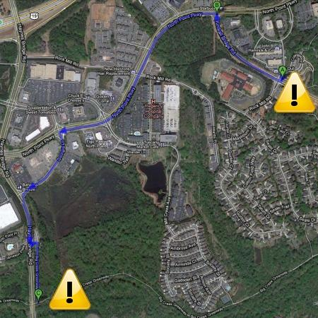 Alpharetta Greenway Closing South of Kimball Bridge on July 26th